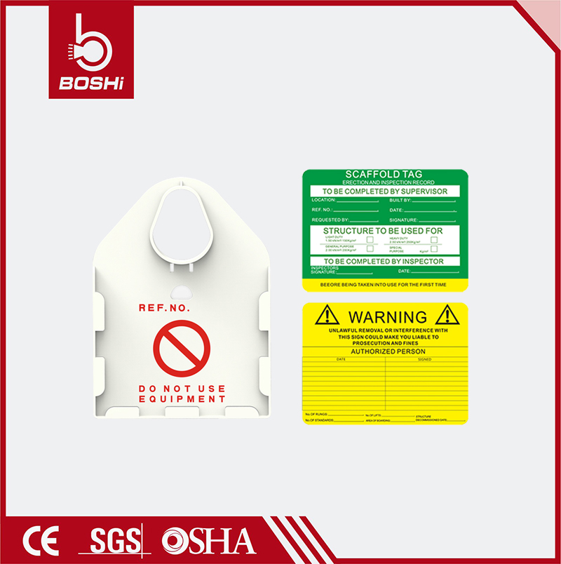Large and mutifunction scaffolding asset Tag BD-P36