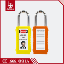Long Body Safety Padlock BD-G81~G88