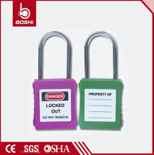 38mm Thin Steel Shackle Master Padlock BD-G72